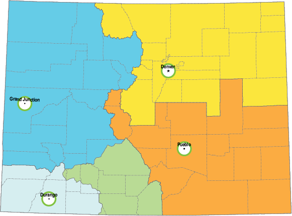 Small Colorado Regulatory Map