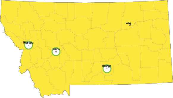 Small Montana Regulatory Map