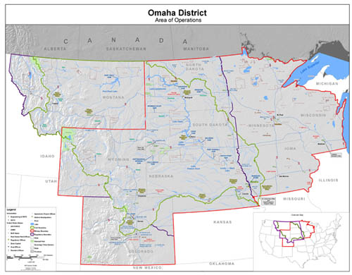 Omaha District Map