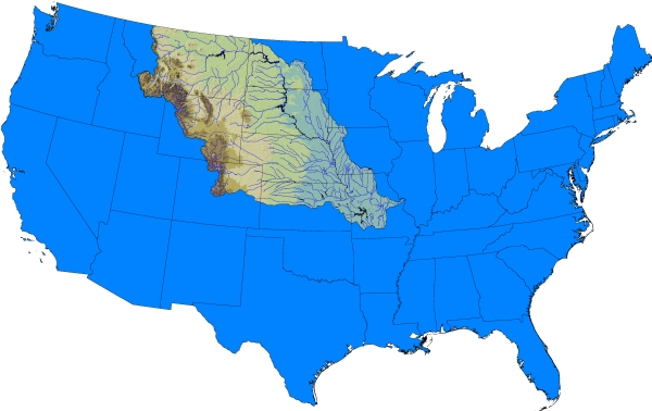 Missouri River Basin Watershed