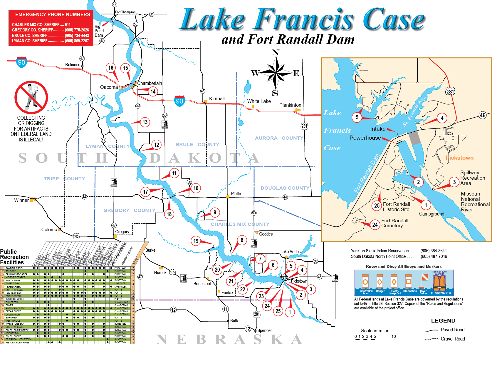 Omaha District  Missions  Dam and Lake Projects  Missouri River