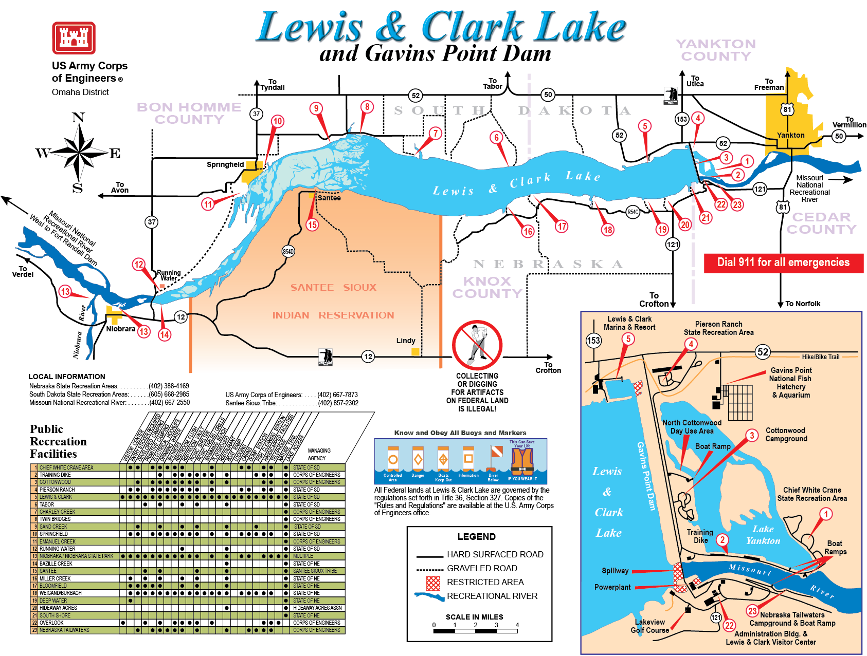 Omaha District Missions Dam And Lake Projects Missouri River - Omaha-on-us-map