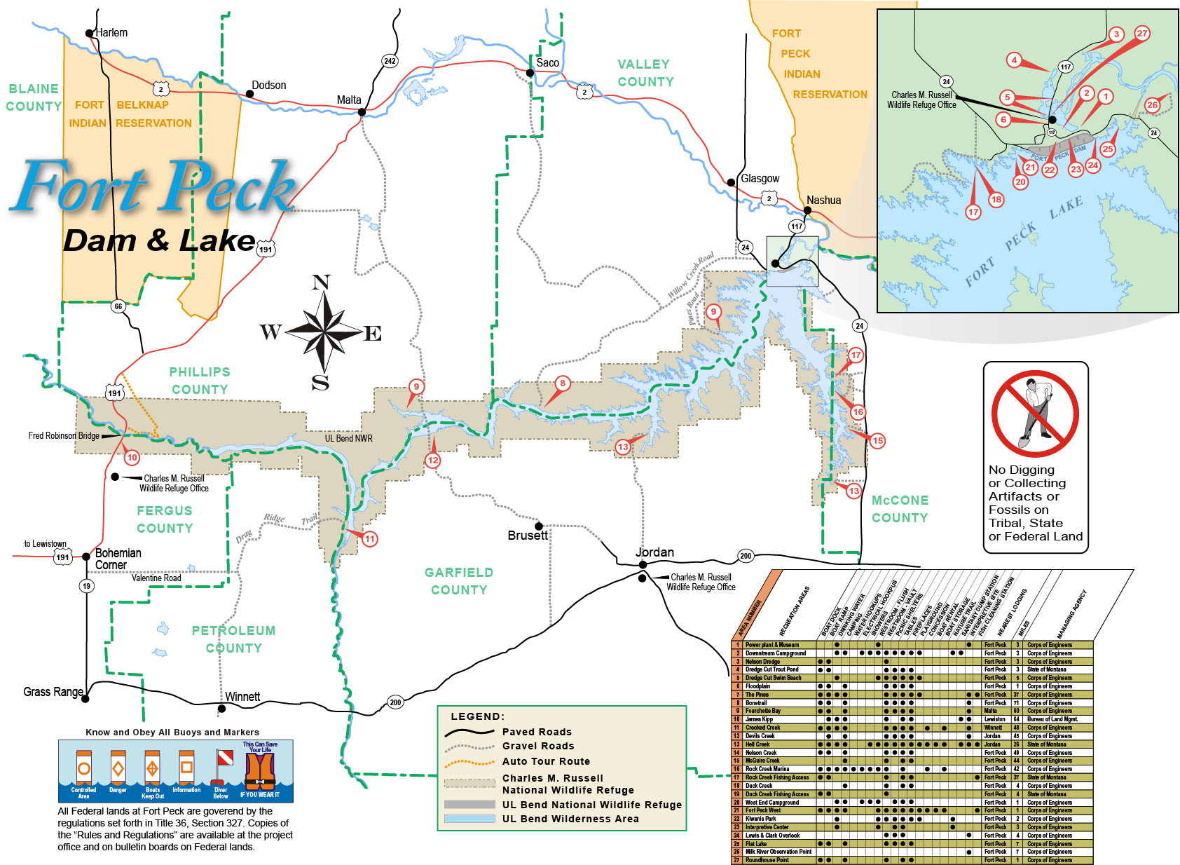 Omaha District Missions Dam And Lake Projects Missouri River - Missouri lakes map